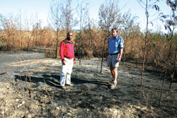 Emcakwini after forest fires