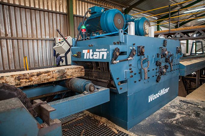 Wood Mizer Titan Wideband Sawmilling Product Range