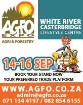 The second Agriculture and Forestry Expo will take place from 14 - 16 September 2017 at the Casterbridge Lifestyle Centre in White River.