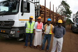 Transport contractor makes history at SQF