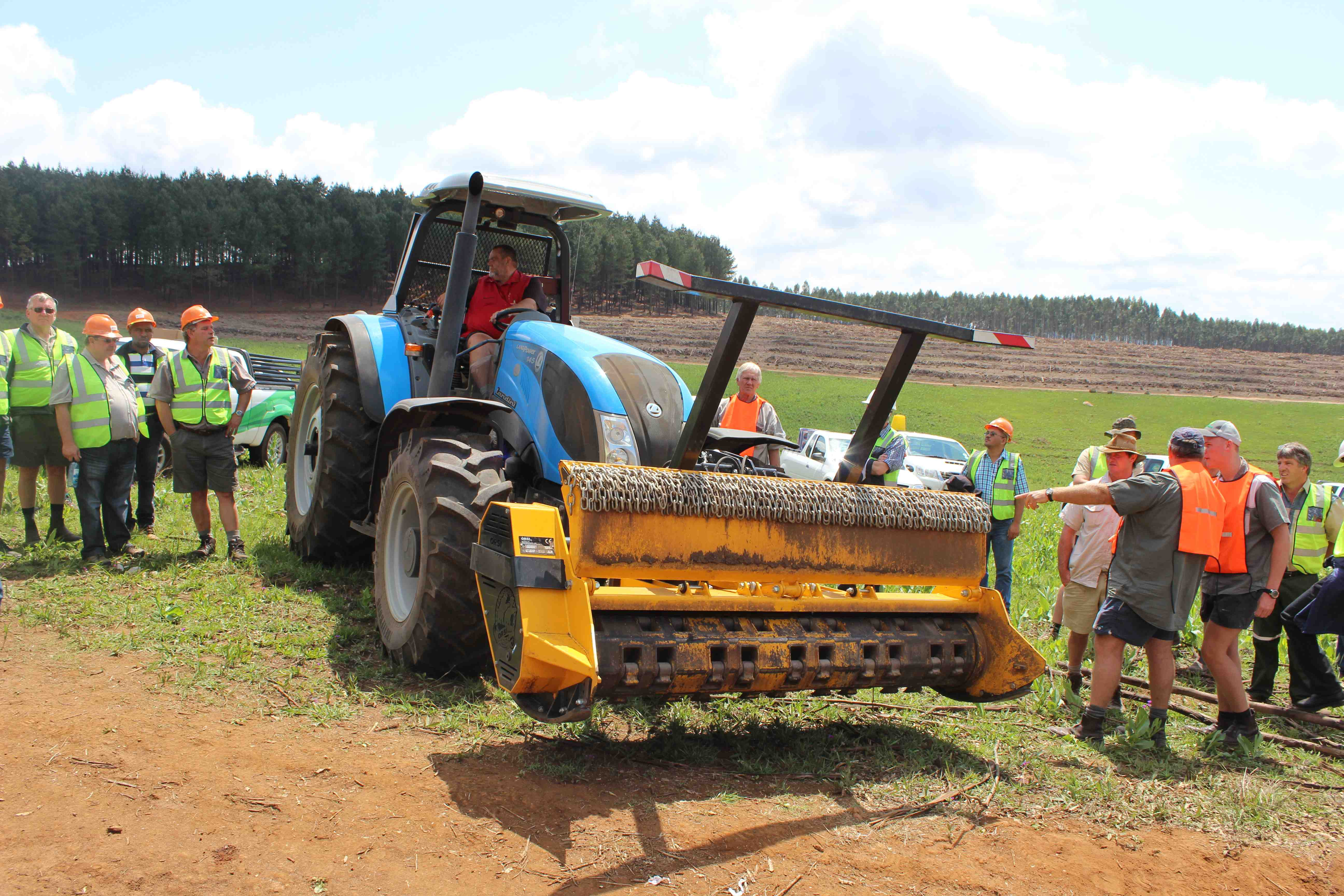 Atemberaubend Mechanisation changing the face of forestry - SA Forestry Online #MK_71