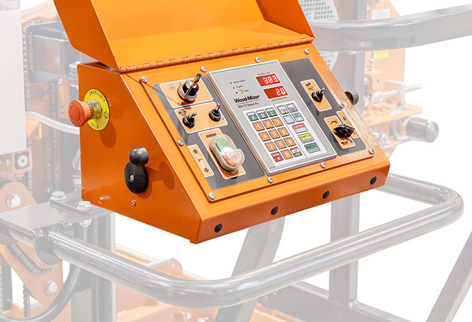 5)The-sawmill-controls-and-optional-Setworks-are-centrally-located-on-the-Operator-Control-Panel
